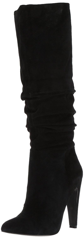 Steve Madden donne Carrie punte   in Pelle Fashion Stivali Nero Grande 7