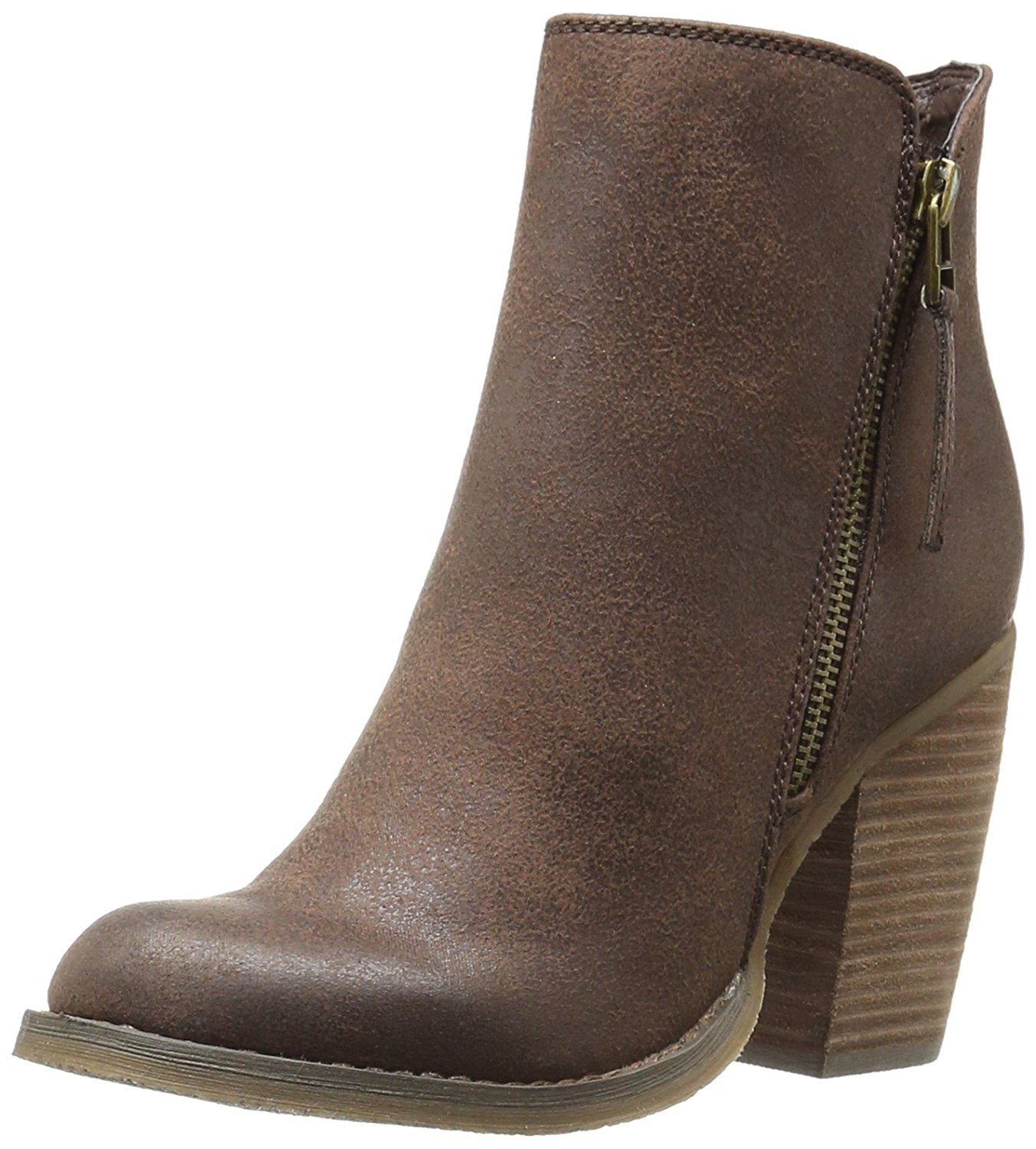 Sbicca Women's Percussion Boot, Brown, Size 8.0