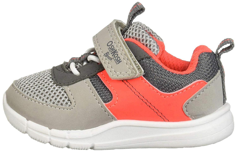 Kids OshKosh B/'Gosh Boys Atalanti-b Fabric Low Top Lace Up Fashion Sneaker