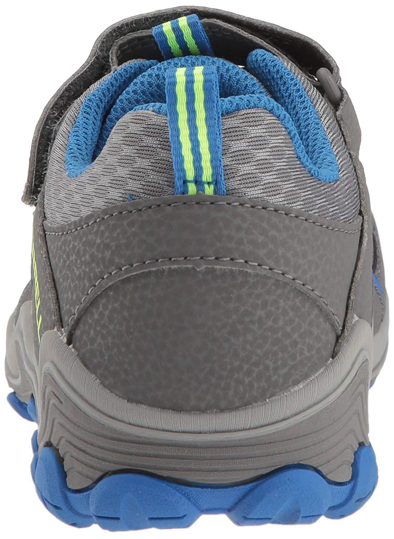 dd8218289bfca Details about Merrell Kids' Chameleon 7 Access Low a/C WTRPF Hiking Shoe,  Grey/Blue, Size 2.5