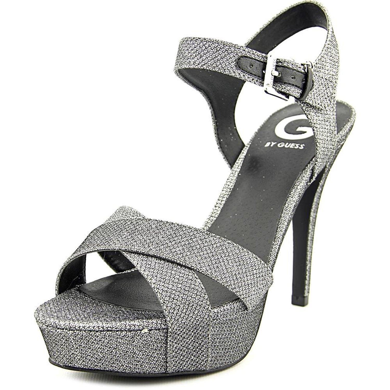 5f05cec30de Details about G by Guess Womens Cenikka Open Toe Ankle Strap Platform  Pumps