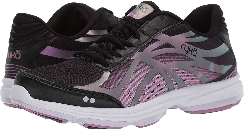Ryka Women's Devotion Plus 3 Walking Shoe, Black, Size 8.5 X