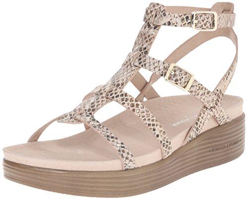 Donald J Pliner Womens FritzMO Platform Sandal Platino Size 60