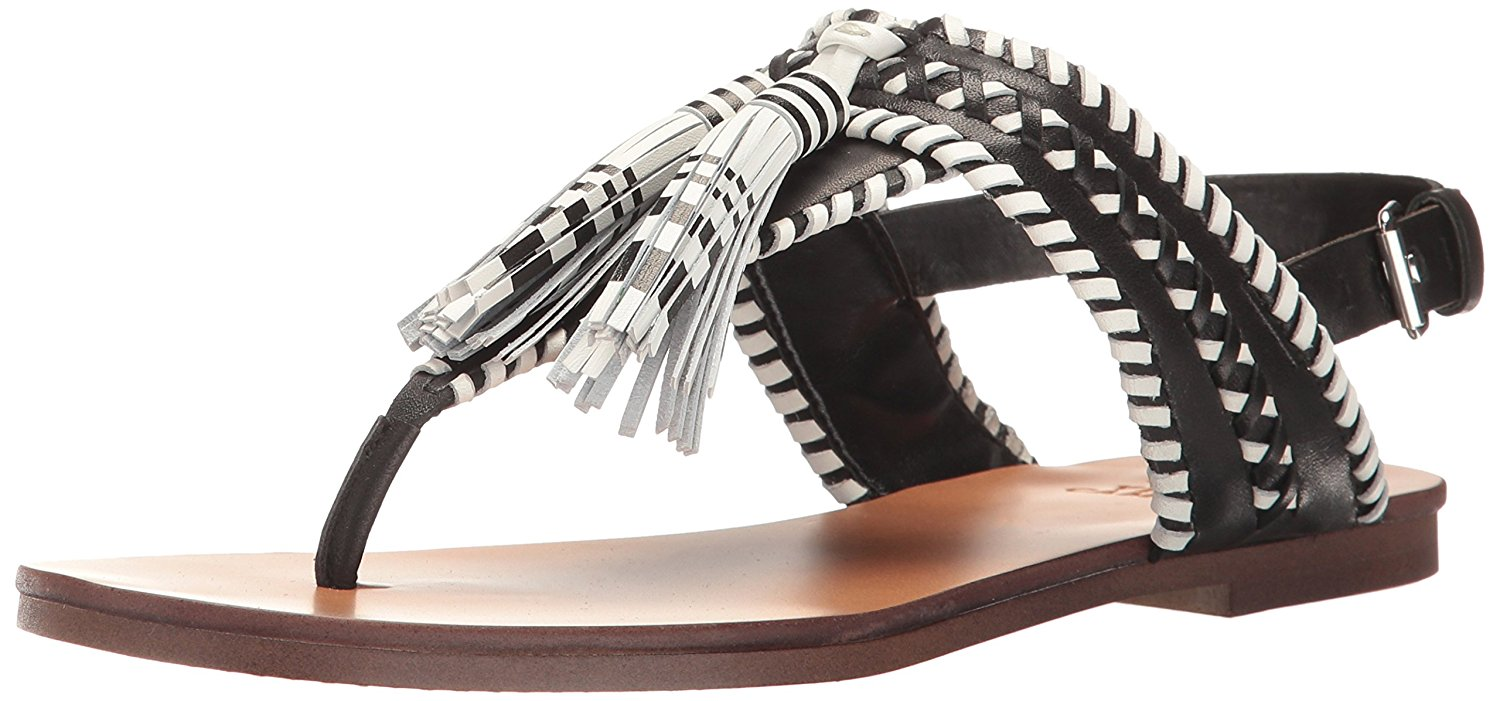 a58214797c5 Vince Camuto Womens Rebeka Leather Open Toe Casual Slingback Sandals ...