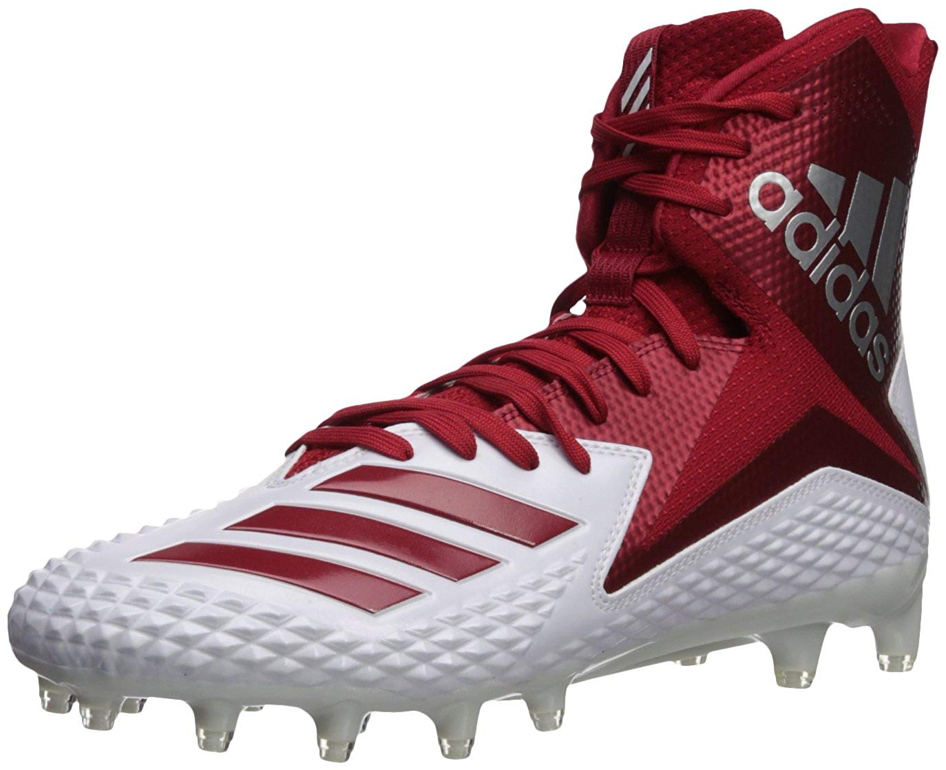 Details about Adidas Mens Freak x Carbon Hight Top Lace Up Baseball Shoes, Red, Size 14.0 GZmt