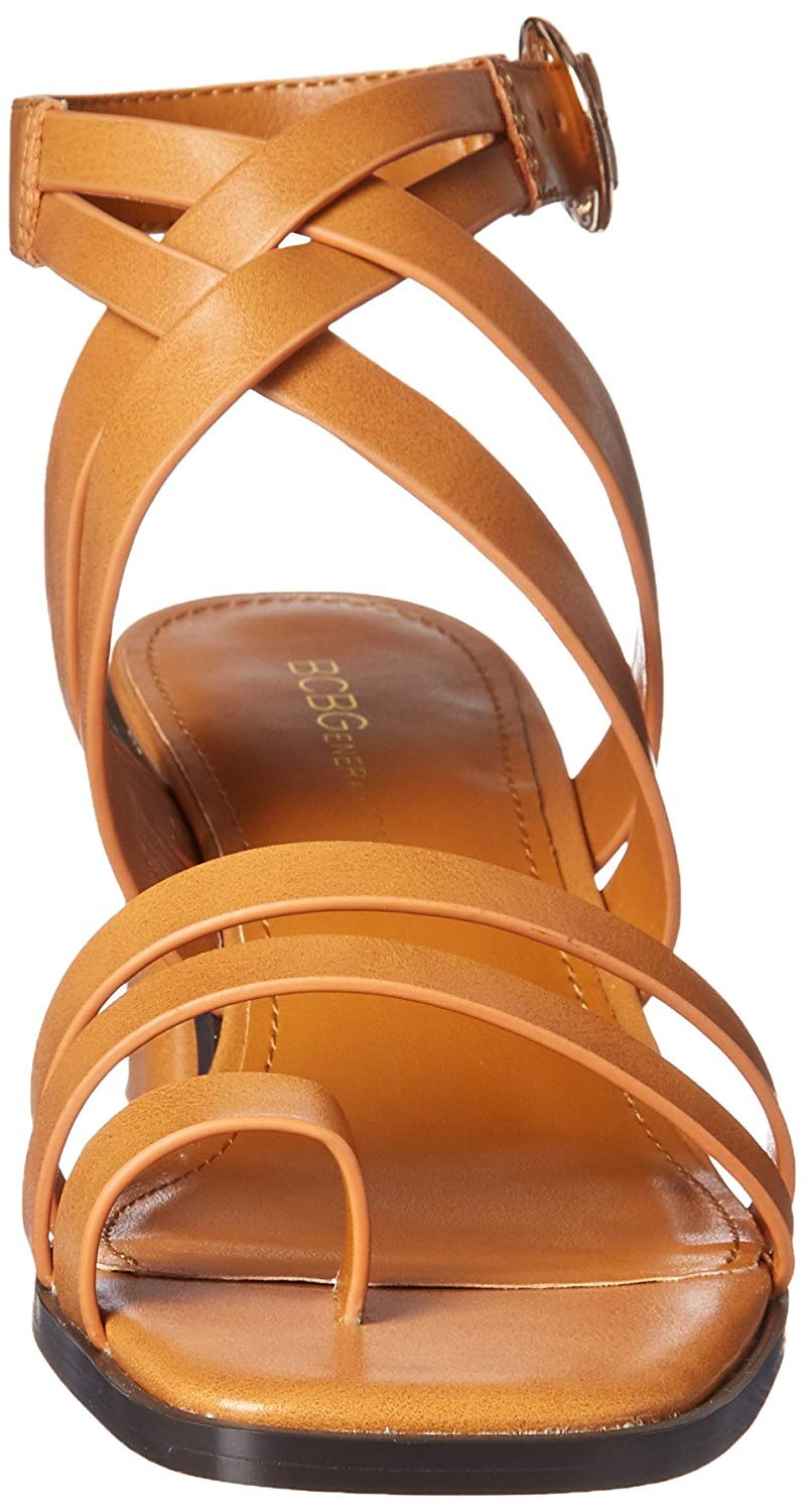 a4eab144e BCBGeneration Womens erica Open Toe Casual Ankle Strap Sandals