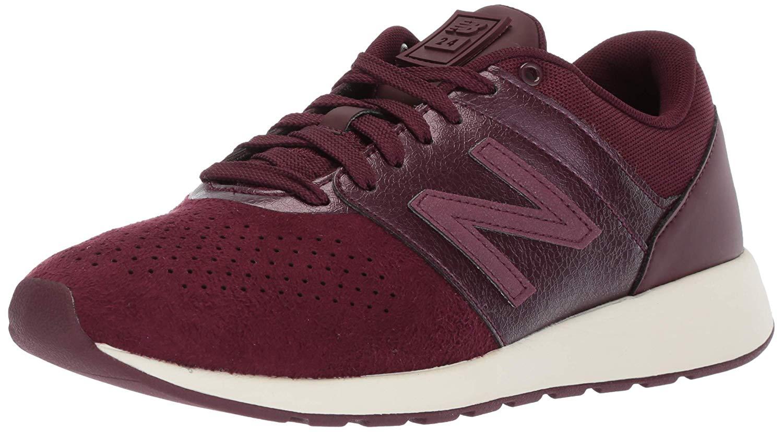 Femmes New Balance chaussures De Sport A La Mode Couleur rouge Chocolate Cherry