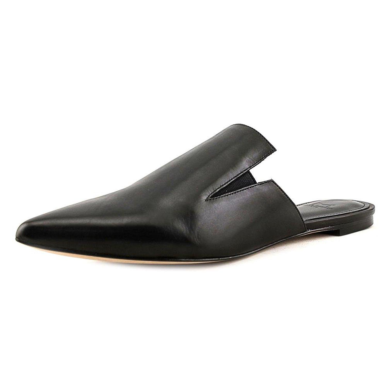 Marc Fisher Damenschuhe Shiloh Leder Pointed Toe Slide Flats