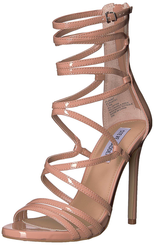 7da6066076d Steve Madden Women s flaunt Heeled Sandal