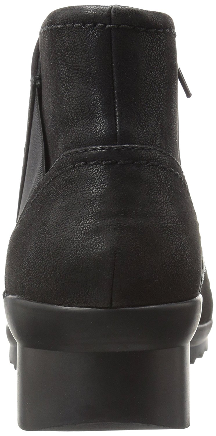 CLARKS-Womens-Caddell-Rush-Closed-Toe-Ankle-Cold-Weather-Boots-Black-Size-8-0