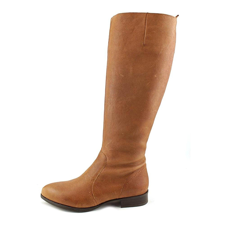Nine Pointed West Damenschuhe Nicolah Leder Pointed Nine Toe Knee High Fashion Stiefel a1f86c