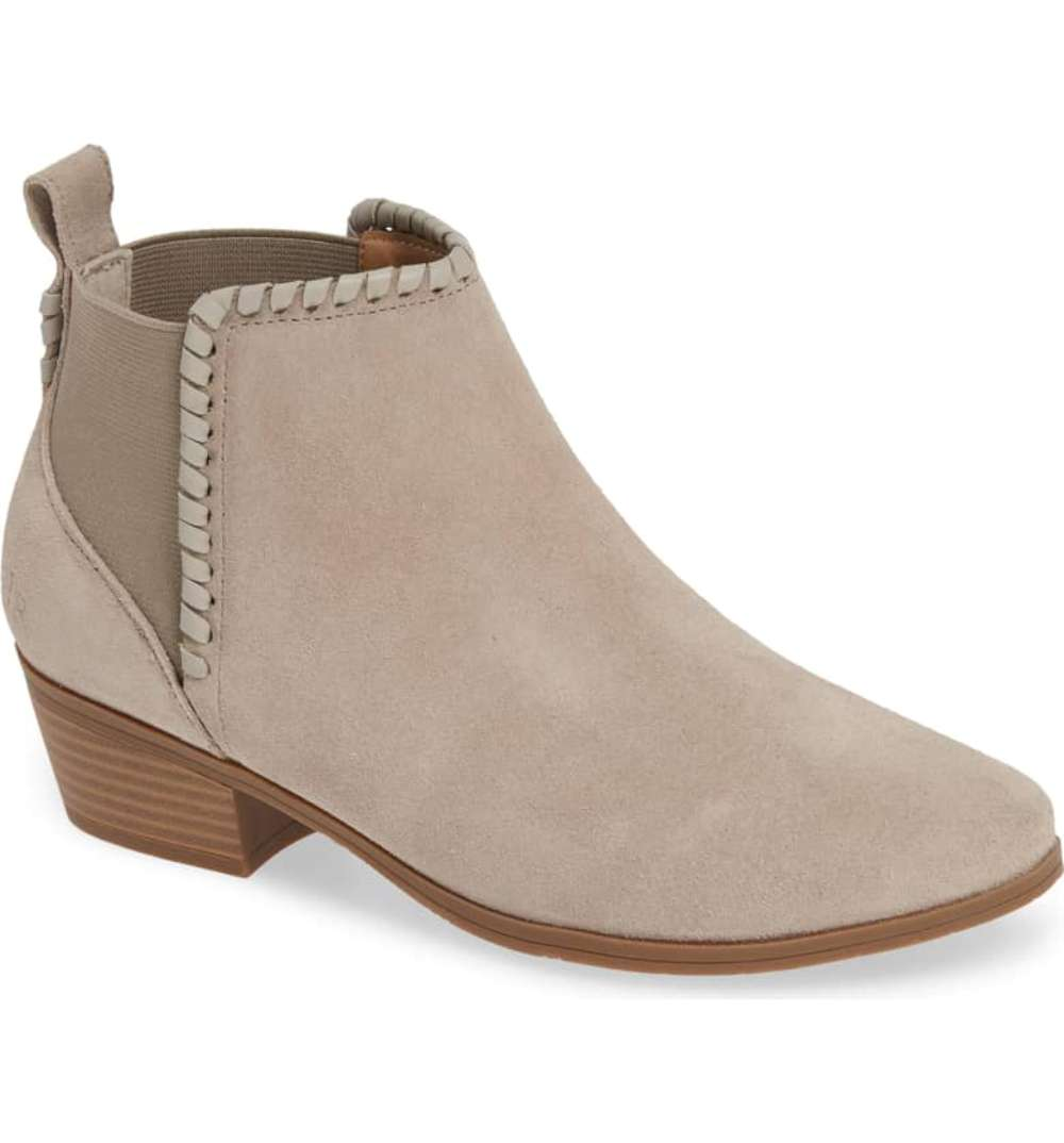 cc6424d10 Jack Rogers Womens Tori Round Toe Ankle Chelsea Boots, Dove Grey ...