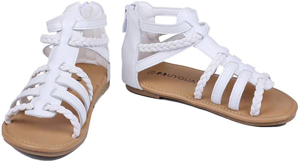 MuyGuay Toddler Girls Gladiator Sandals