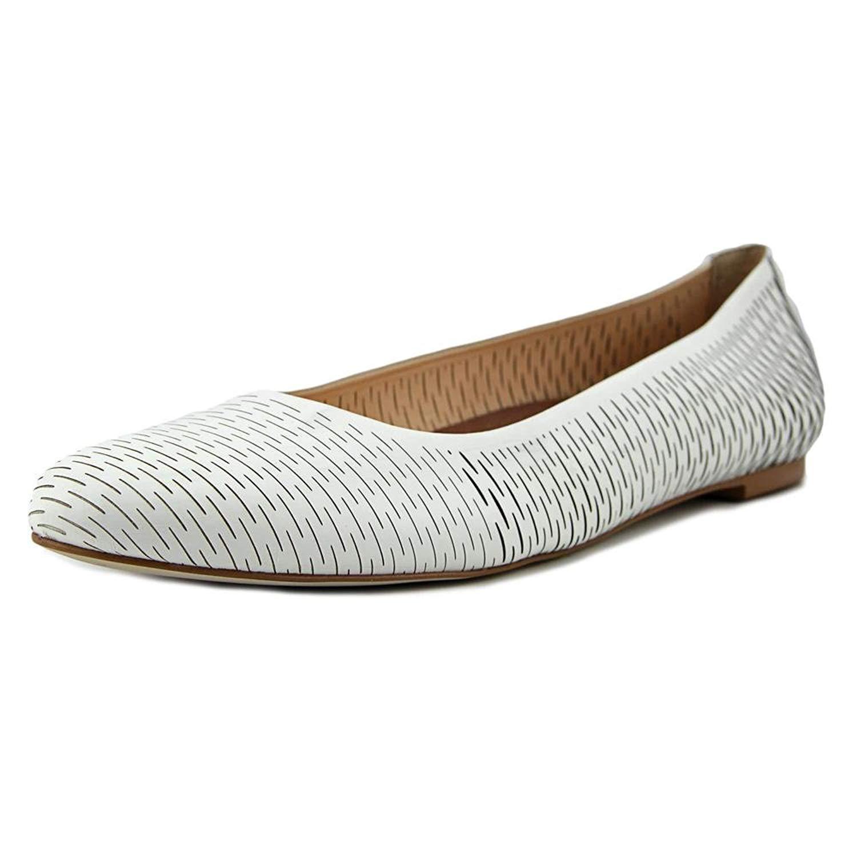 d8957ce78e Details about Walking Cradles Womens Blaire Leather Round Toe Ballet Flats