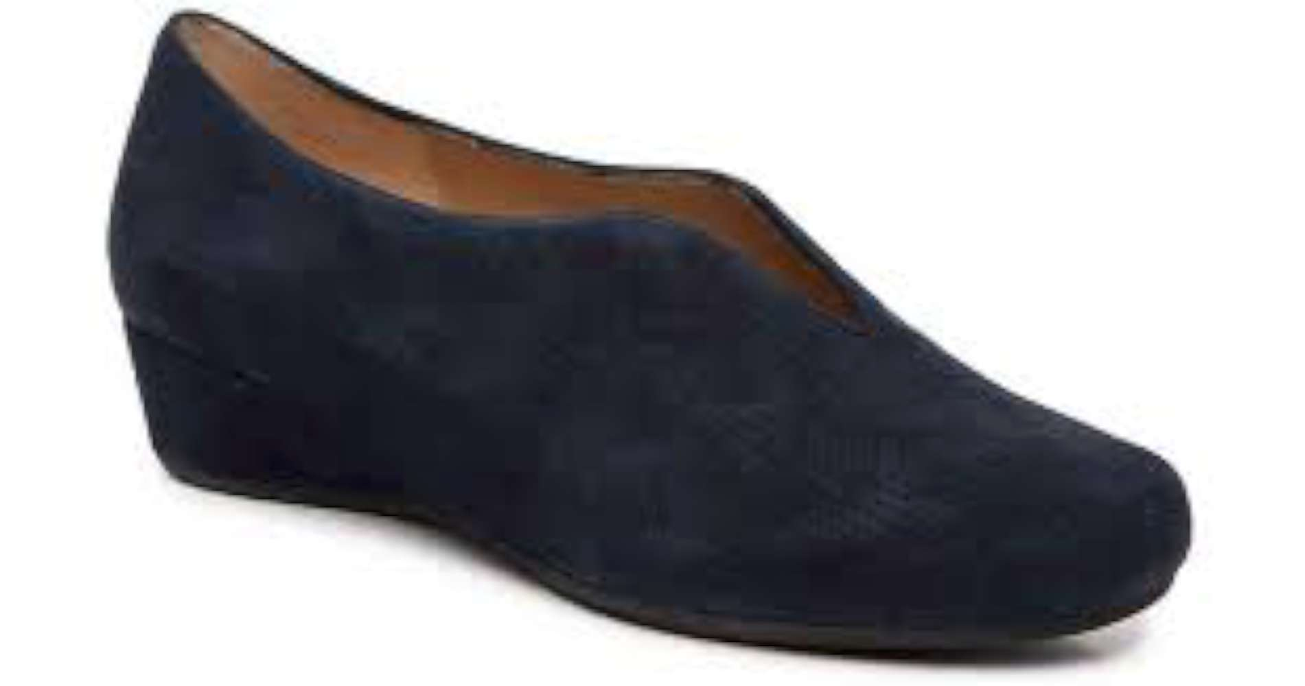 VANELi Womens madix Leather Closed Toe Wedge Pumps Blue Size 11.0