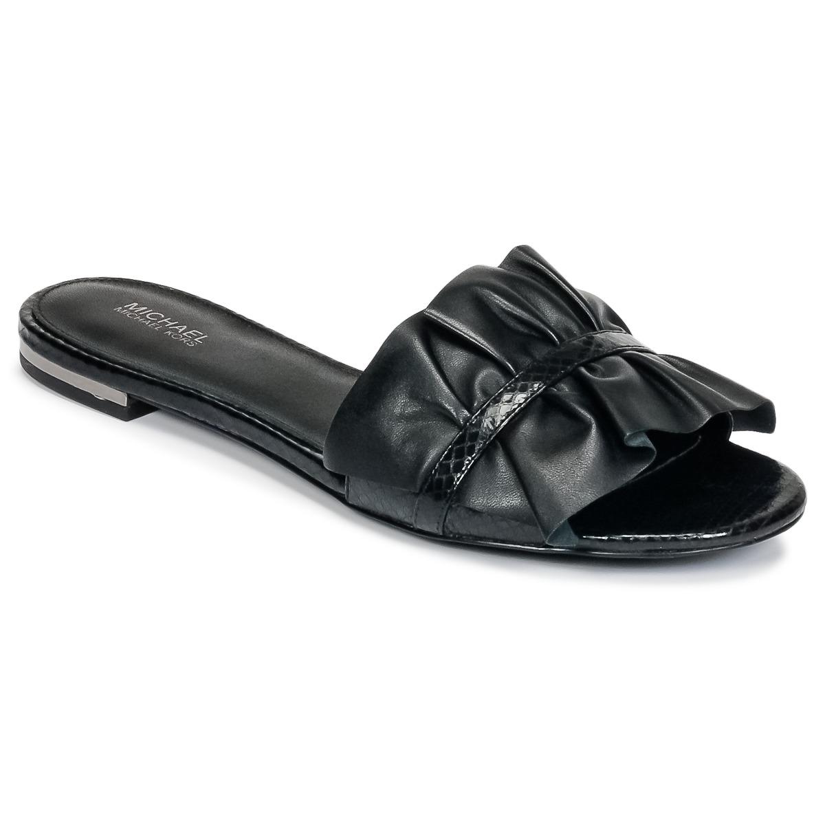d1c38bfd9e85 Michael Michael Kors Womens BELLA SLIDE Open Toe Casual Slide Sandals