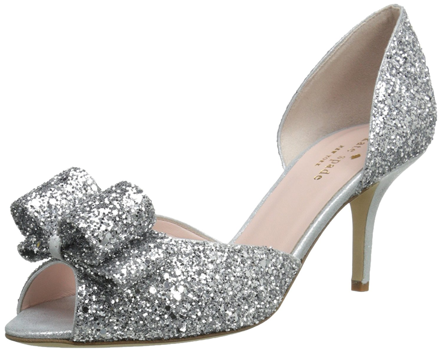 6aeafd7c975c Kate Spade New York Womens Sela Peep Toe Classic Pumps