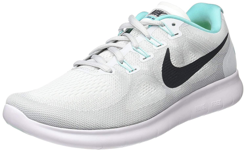 20d5c9e71465d Nike Womens Nike flex 2017 RN Fabric Low Top Lace Up Running Sneaker ...