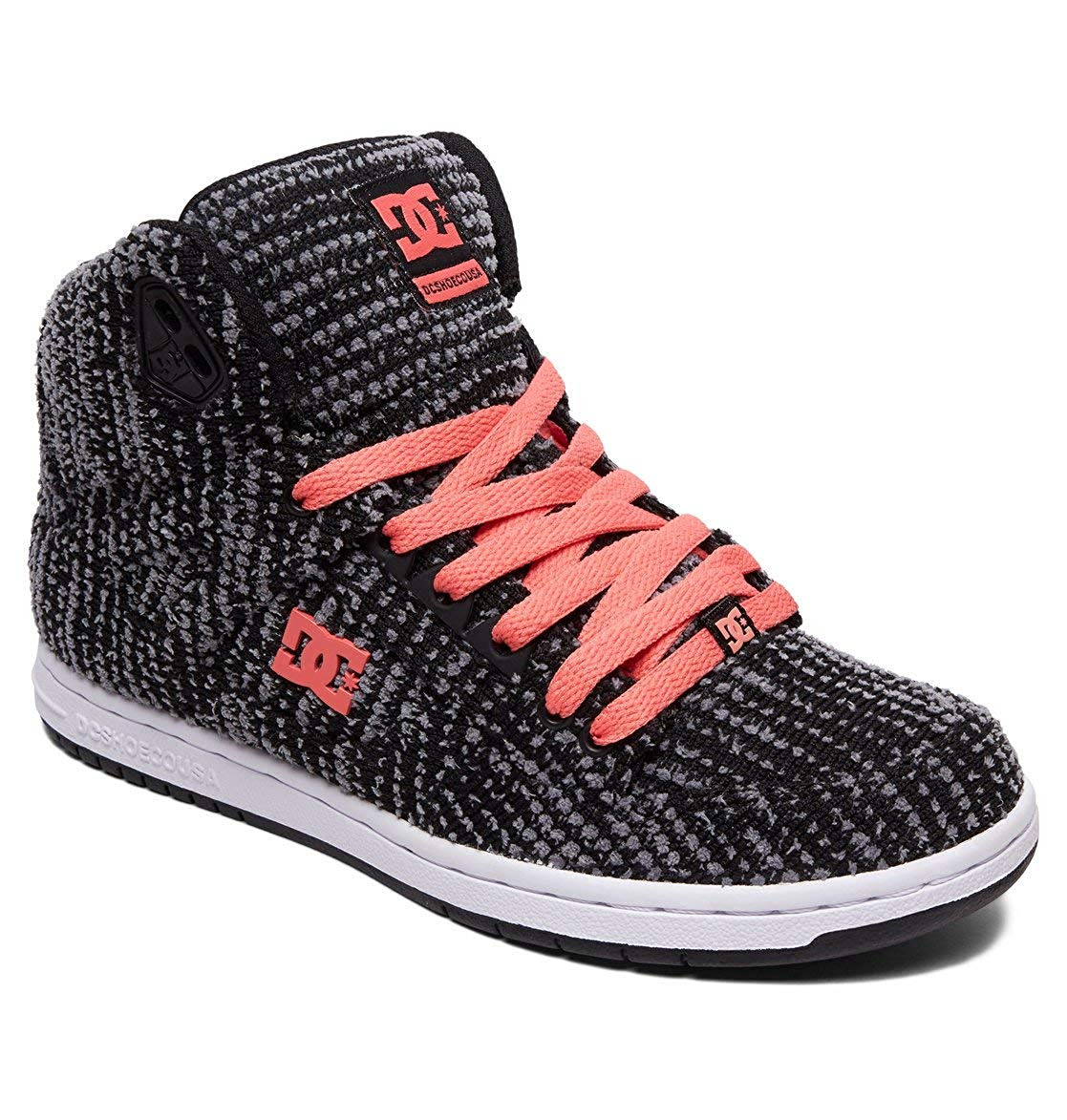 DC Womens Pure HIGH-TOP TX Skate Shoe
