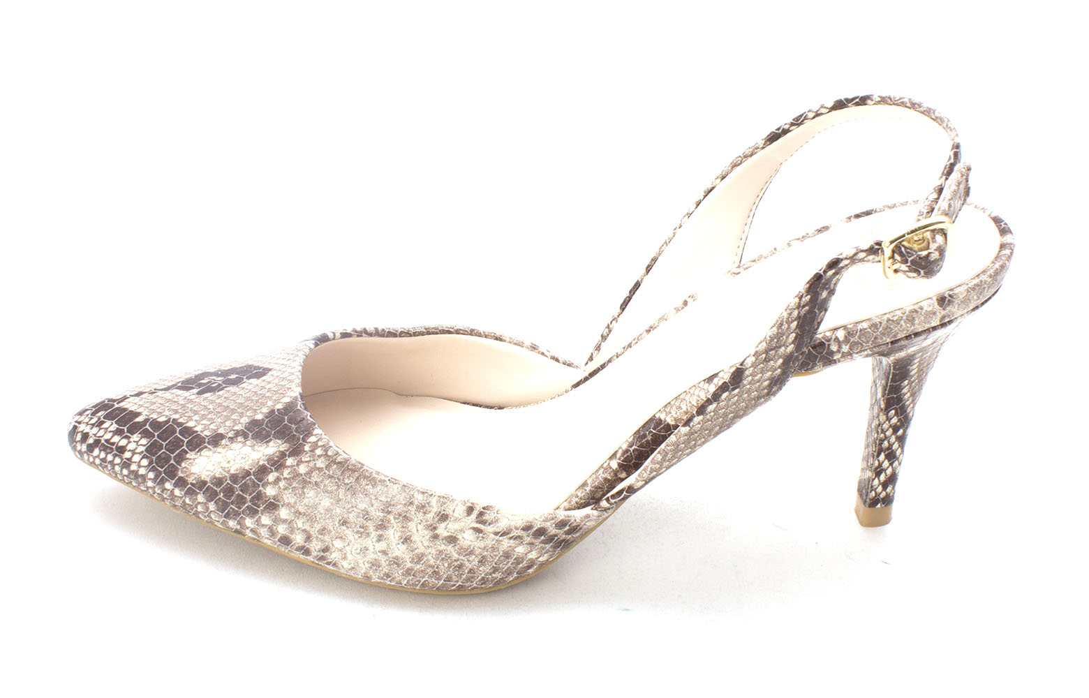 Cole Haan Womens 14A4057 Pointed Toe SlingBack Dorsay Pumps Roccia Size 6.0
