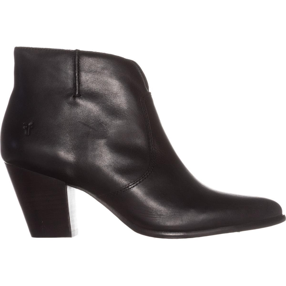 Frye-Womens-Jennifer-Bootie-Leather-Pointed-Toe-Ankle-Fashion-Black-Size-7-0-q thumbnail 2