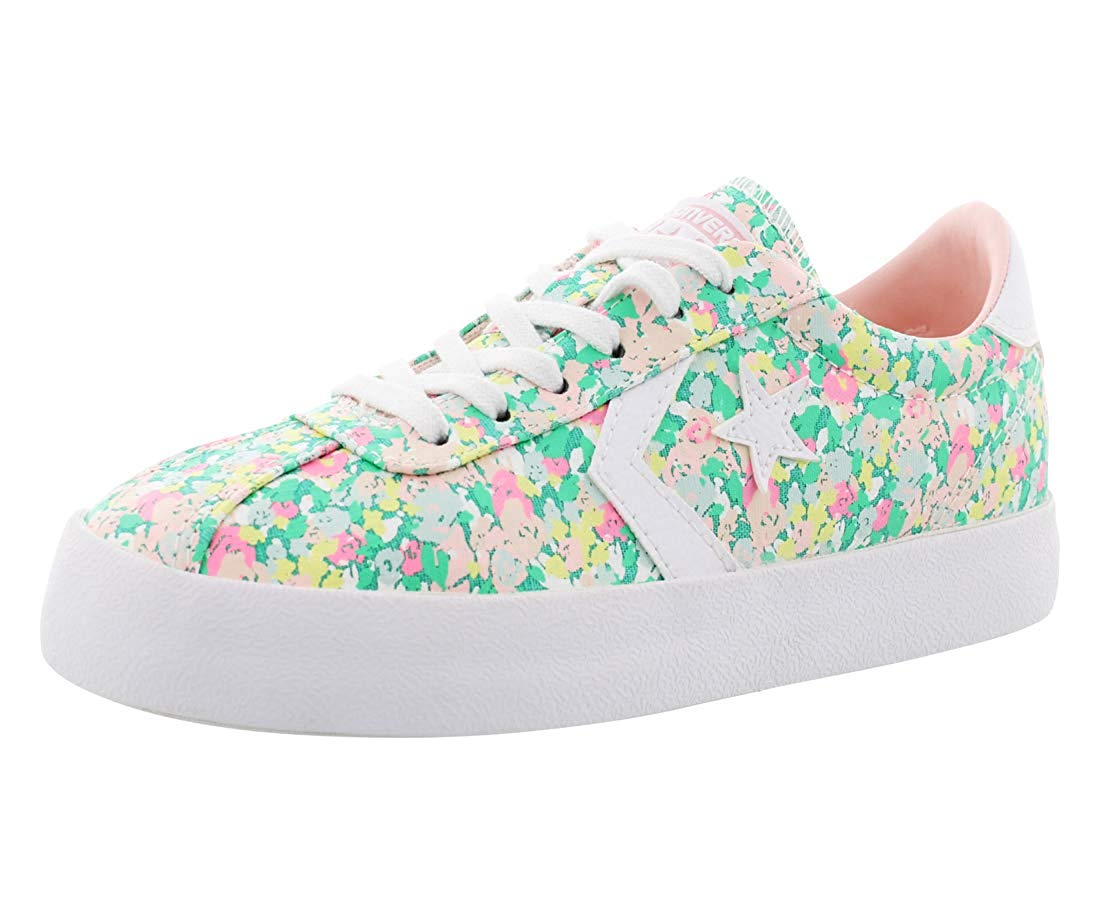 3fa2d8220b2a Converse Womens Breakpoint Floral Low Top Sneaker