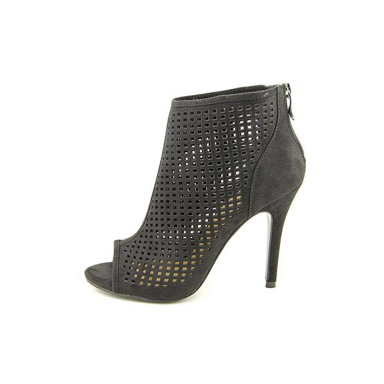 Chinese Laundry Womens JAMBOREE Open Toe Ankle Fashion Boots Black Size 6.0 My