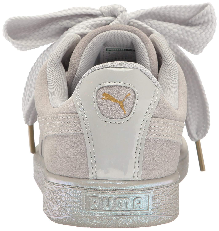 Details about PUMA Women's Suede Heart Satin Wn's Fashion Sneaker
