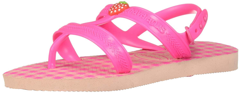 c1fdede953e77 Havaianas Kids  Joy Spring Sandal Ballet Rose Shocking Pink
