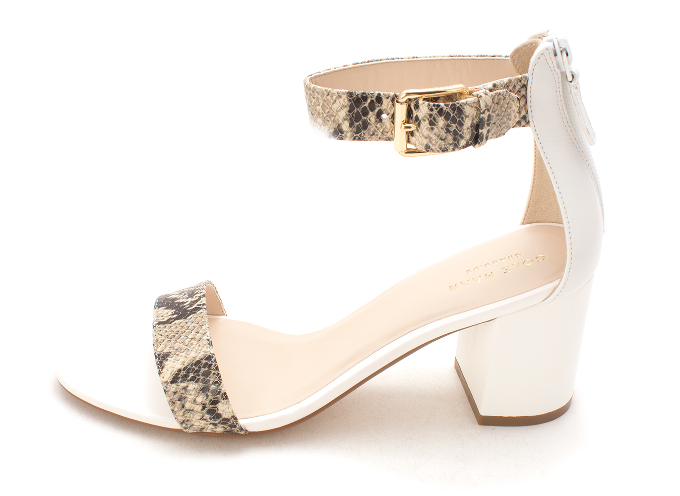 Cole Haan Womens Clarette Sandal II Open Toe Casual Ankle Strap Black Size 65