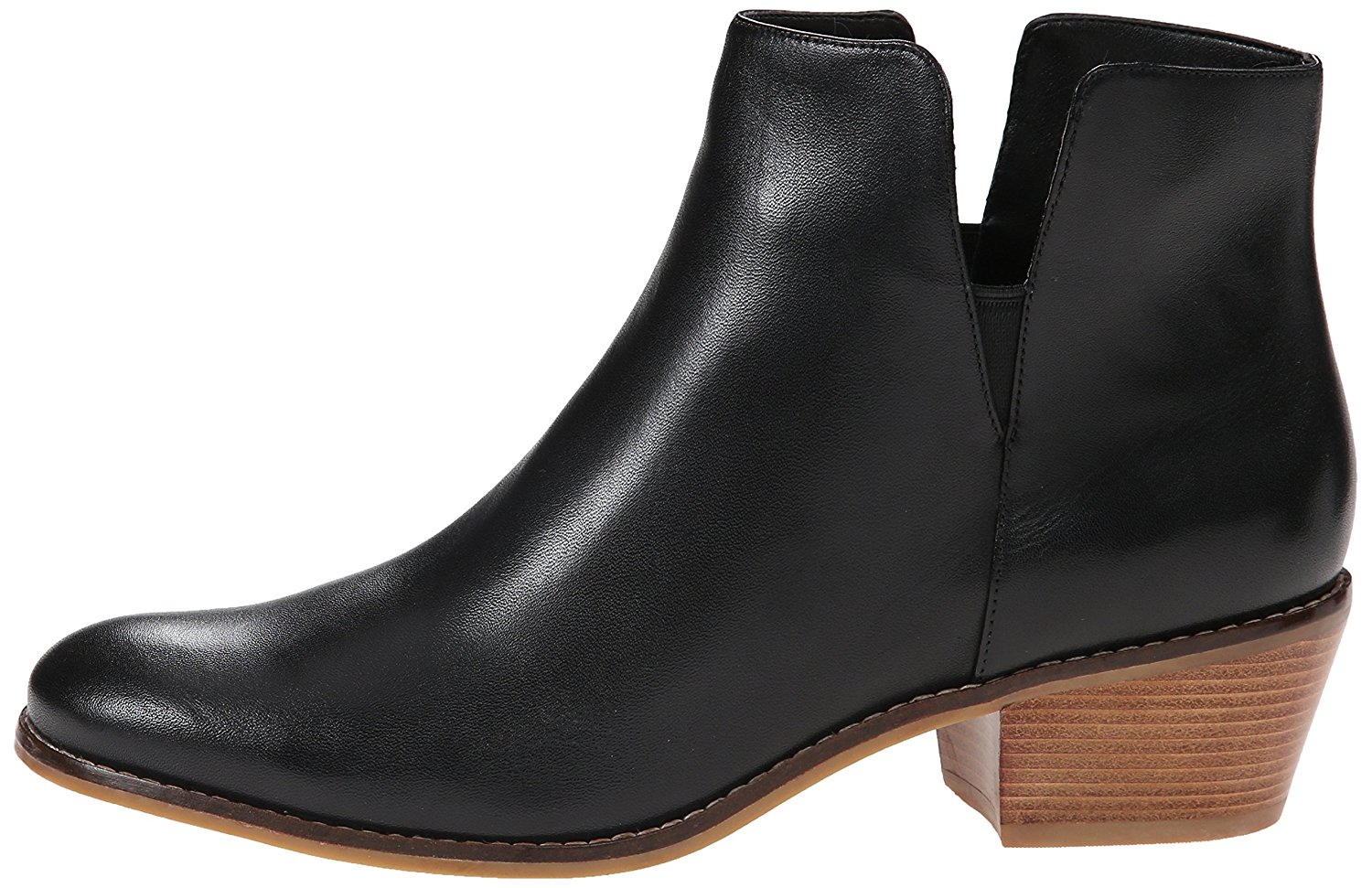 7cf121b7162 Cole Haan Womens abbot bootie Leather Almond Toe Ankle Fashion, Black, Size  10.0