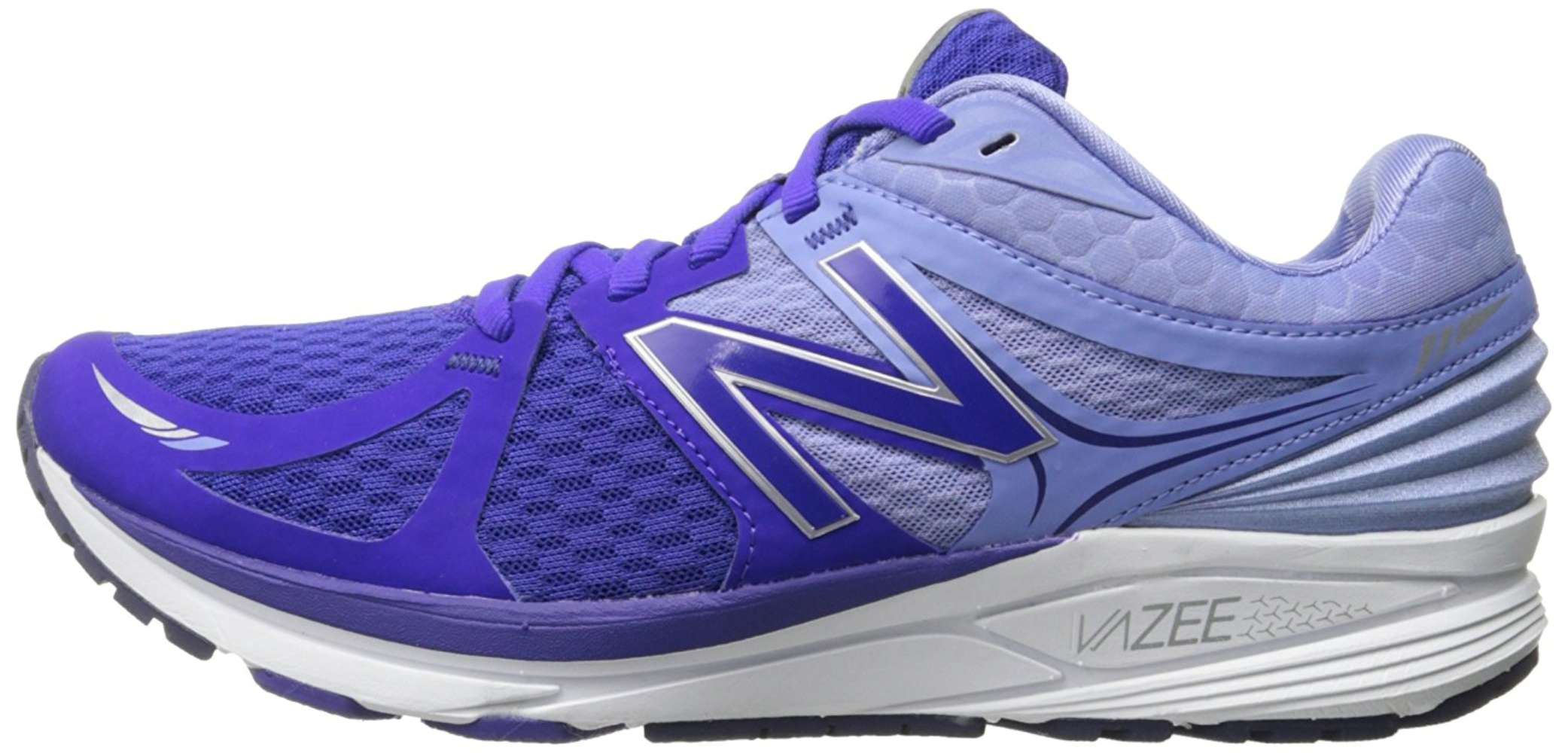 New Balance Womens WPRSMPR Low Top Lace Up Tennis Dark Purple/White Size 5.0