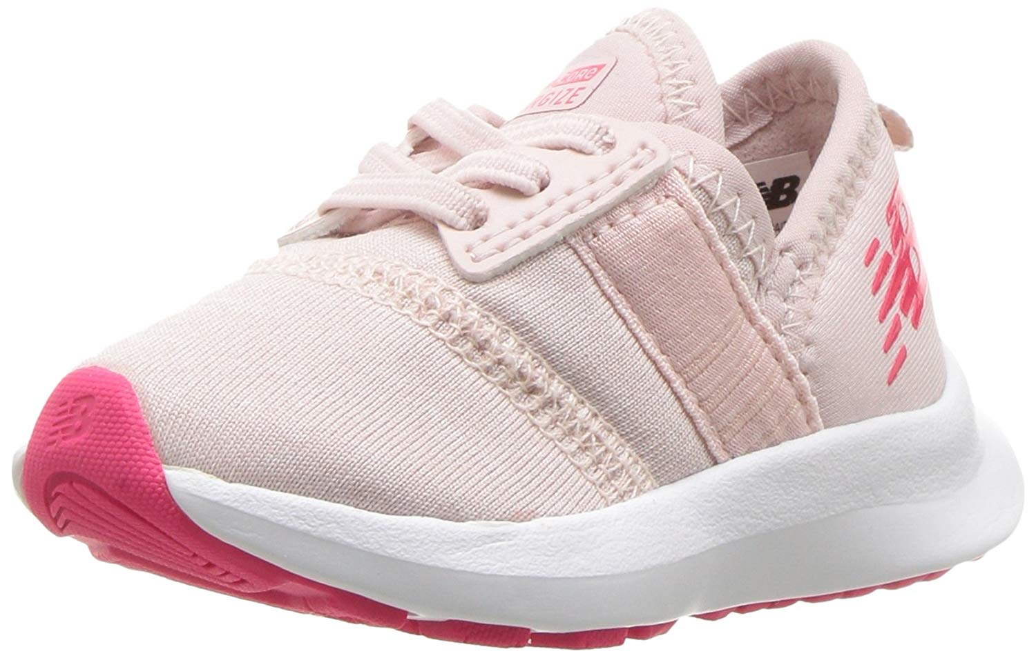 f6a1dc7fa4f4 Kids New Balance Girls Nergize V1 Low Top Lace Up Running Sneaker   eBay