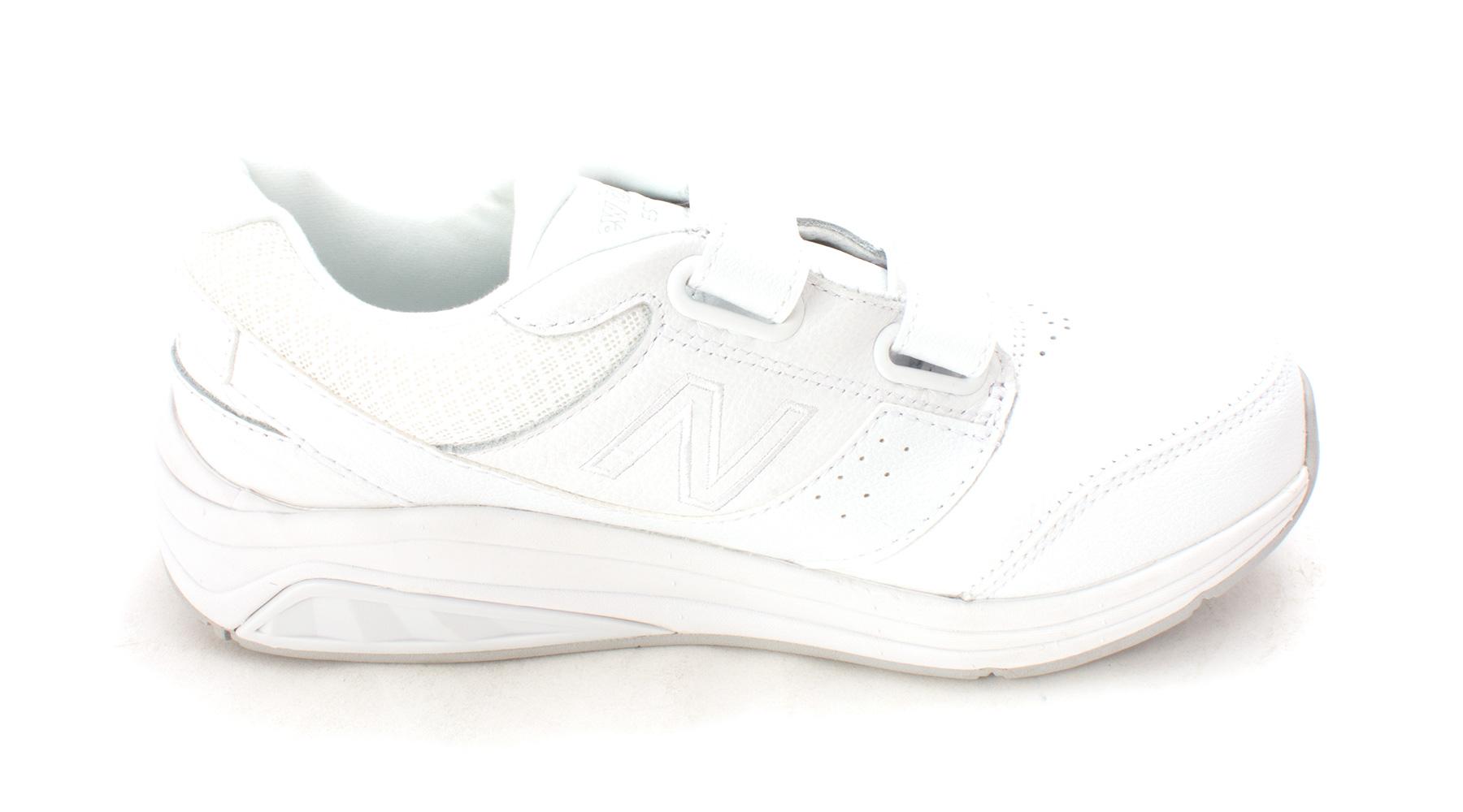 New Balance Womens white 928HW2 Low Top Velcro Walking Shoes White Size 6.5