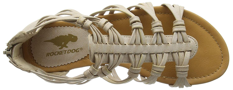 da misura naturale Rocket Sandalo Dog 8 0 da donna gladiatore ROdqA7