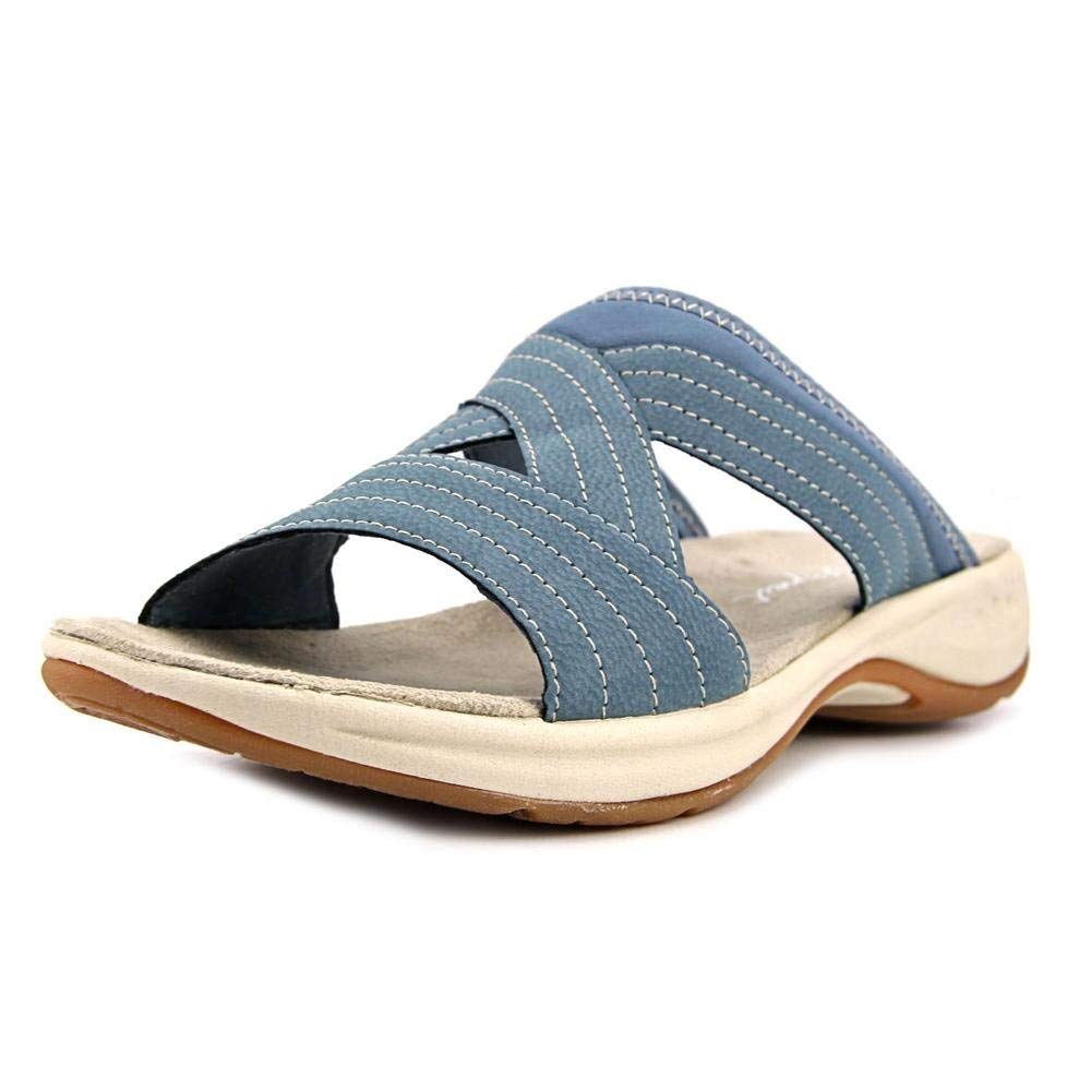 ad6df717d4c7 Details about Easy Spirit Womens Emorie3 Open Toe Casual Slide Sandals