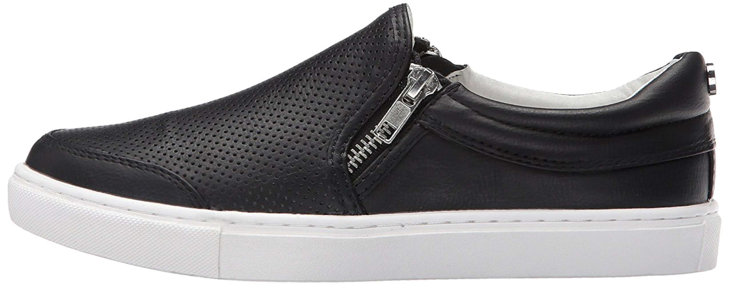 Steve Madden Womens Ellias Low Top Zipper Fashion Sneakers