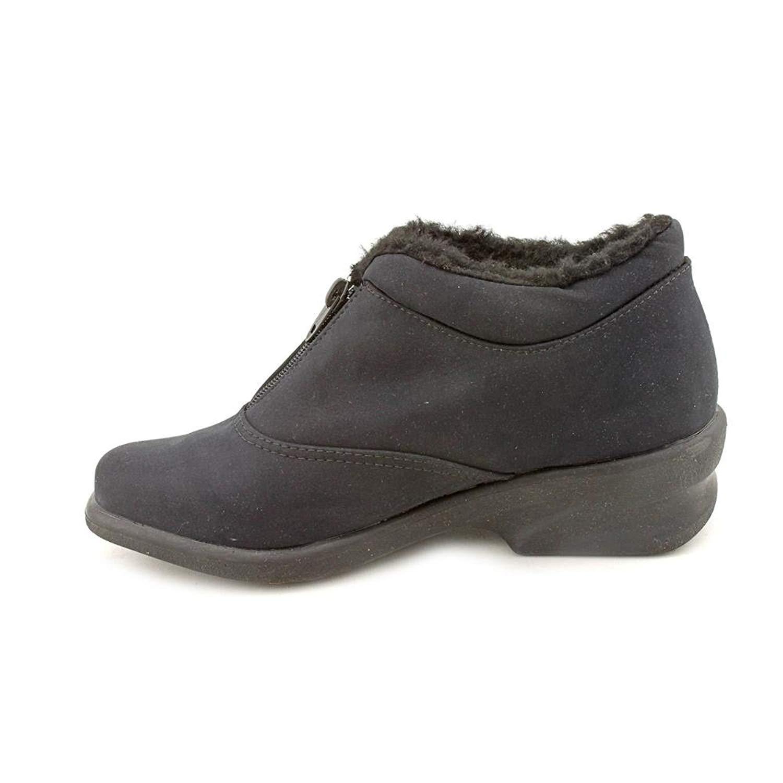 Milwaukee leather para Botas Mujer de Encaje punta Rojoonda Botas para Hebilla Lateral a ancho-Mbl9325w e886c5