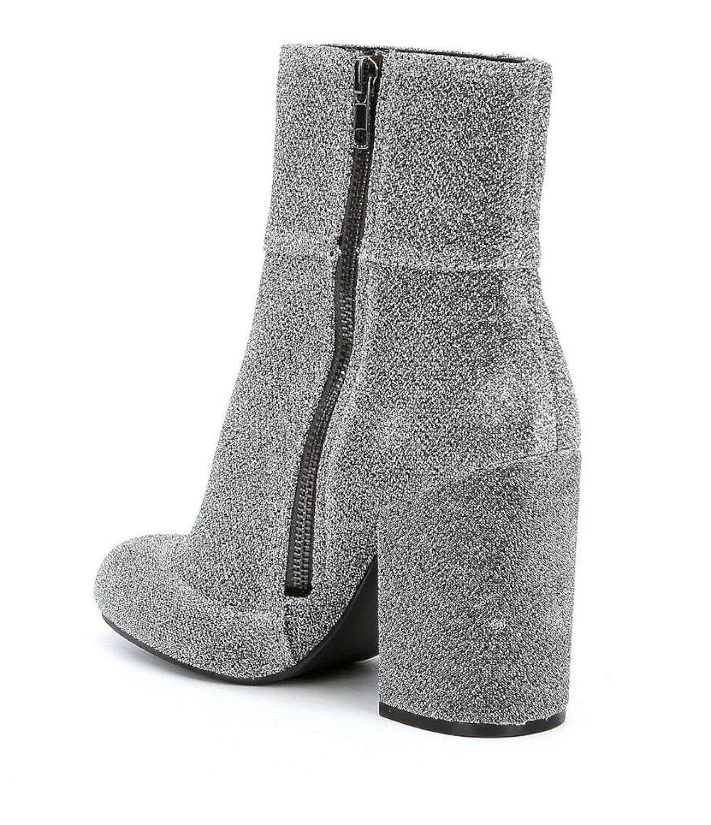 162391f30fa Details about Steve Madden Goldie Womens Boots Silver 8 US / 6 UK vnR