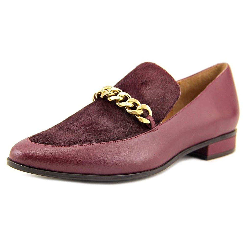 Calvin Klein Womens Fanna Size Closed Toe Loafers, Cabernet, Size Fanna 7.0 073f05