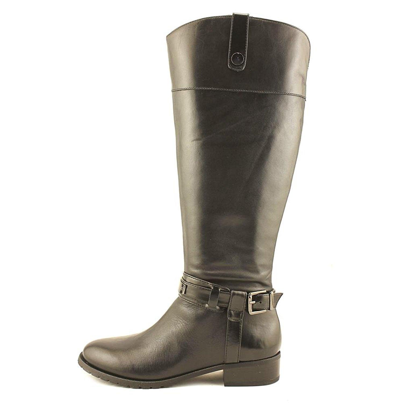 INC International Round Concepts Damenschuhe fabbaa Leder Round International Toe Knee High Fashion ... 4bb34d