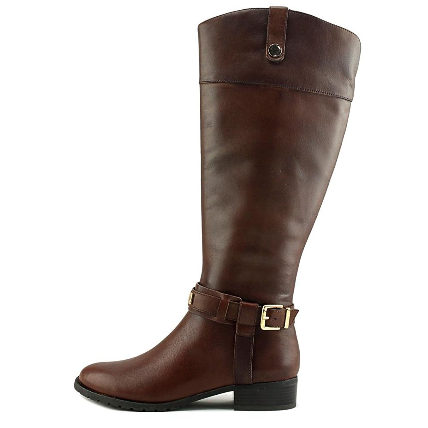 INC International Concepts Womens fabbaa Leather Round Toe Knee High Fashion ...