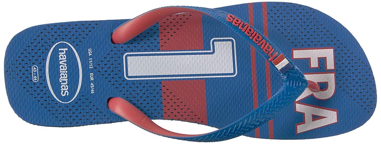b33410223 Havaianas Unisex Teams III - France Sandal