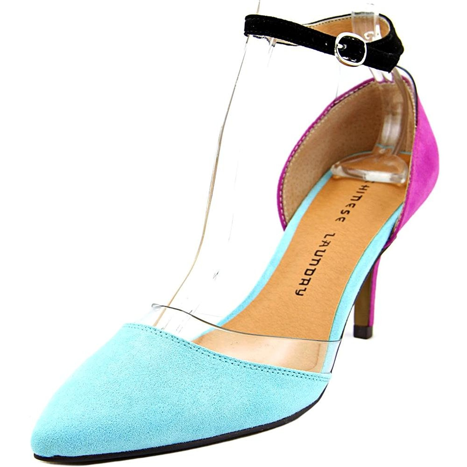 Chinese Laundry Womens off limits Pointed Toe Casual Aquatic Teal Size 90 r6z