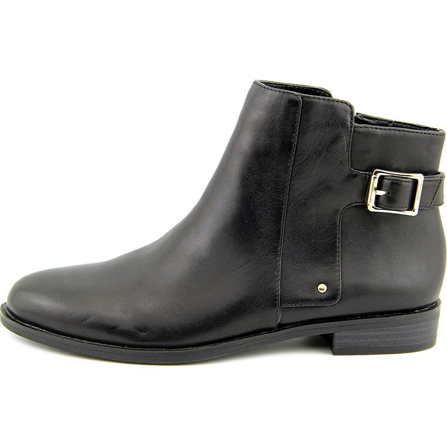 Womens Acke Leather Closed Toe Ankle Fashion Boots