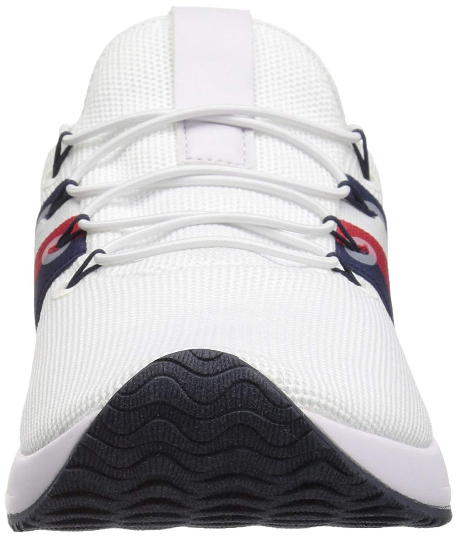 Détails sur Femmes Tommy Hilfiger Chaussures De Sport A La Mode Couleur Blanc White Taille 3