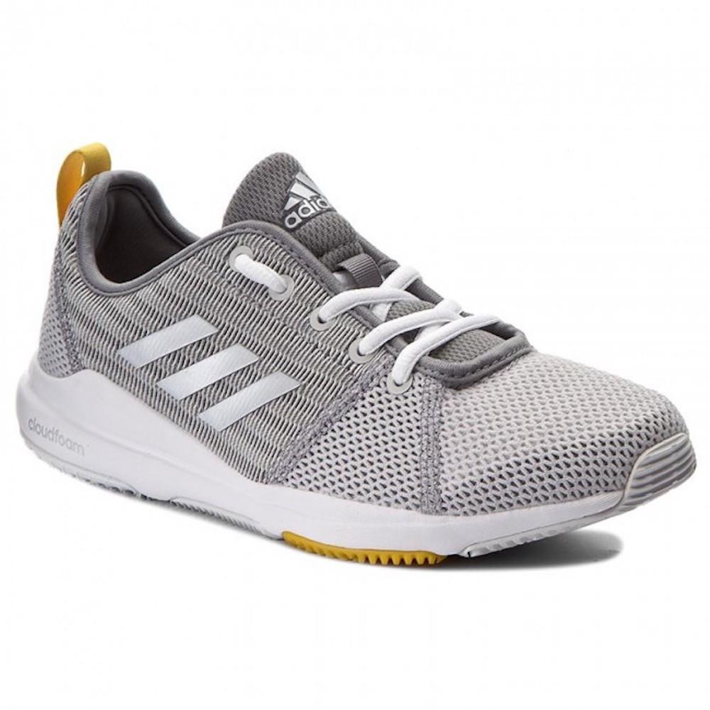 Chaussures 41 Silver Métallique Détails Couleur sur Grey Athlétiques Taille Femmes Adidas CreoWdxB