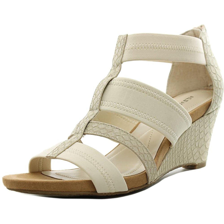 Womens Mavenn Open Toe Casual Wedged Sandals Tan Size 7.5