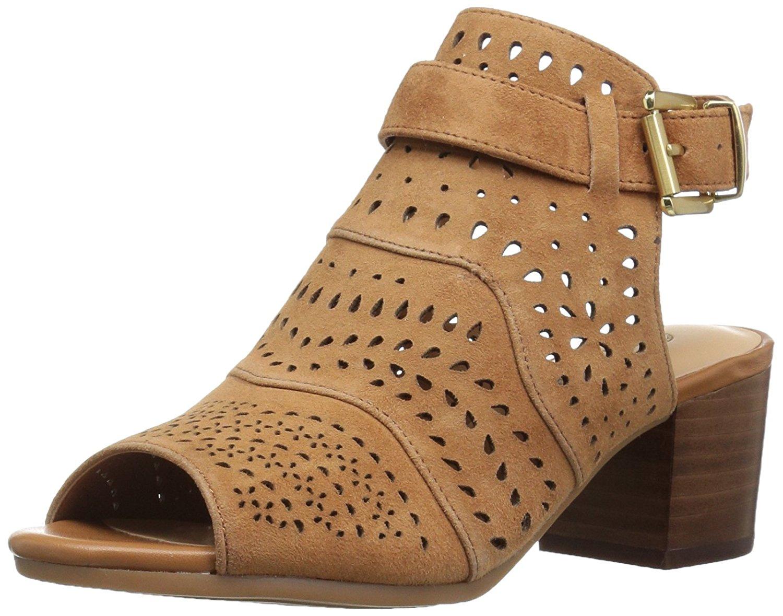 Womens Fonda Dress Sandal, Biscuit Kid Suede, 9.5 N US Bella Vita