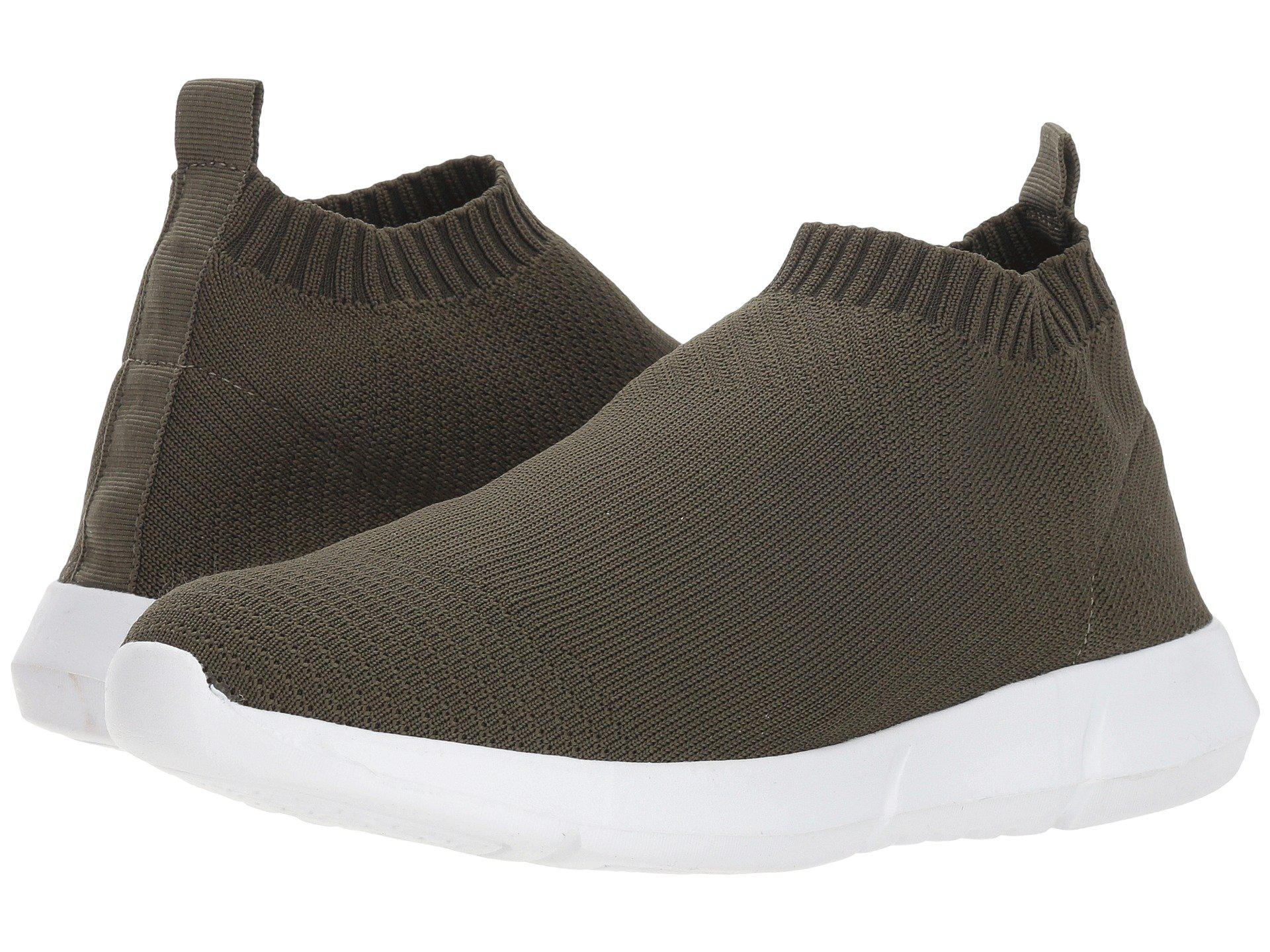 761a4b0e8c2 Details about Steven by Steve Madden Womens Fabs Hight Top Slip On Fashion  Sneakers